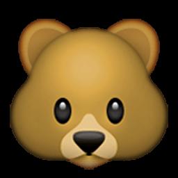 Bear Face Emoji