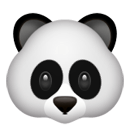 Panda Face Id 215 Emoji Co Uk