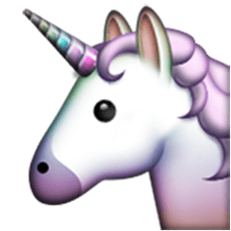 Unicorn Face Emoji