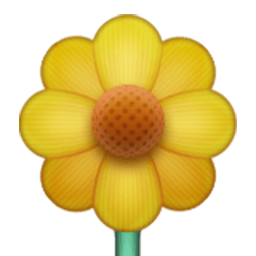 Blossom Emoji for Facebook, Email & SMS | ID#: 301 | Emoji co uk