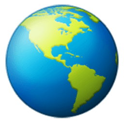 Earth Globe Americas Emoji