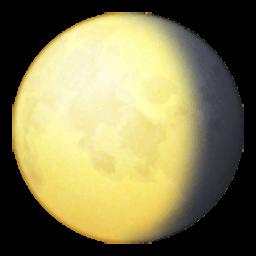 Waning Gibbous Moon Symbol