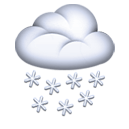 Cloud With Snow Emoji