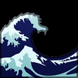 Water Wave Emoji