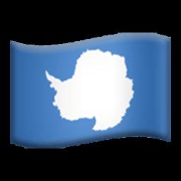 Flag Of Antarctica Emoji