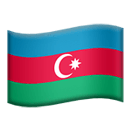 Flag Of Azerbaijan Emoji