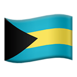 Flag Of The Bahamas Emoji