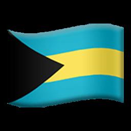 Flag Of The Bahamas Emoji