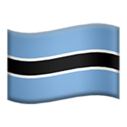 Flag Of Botswana Emoji