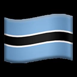 Flag Of Botswana Emoji