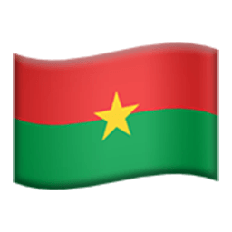 Flag Of Burkina Faso Emoji