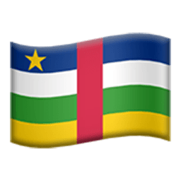 Flag Of Central African Republic Emoji
