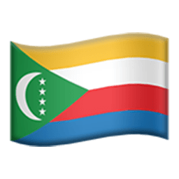 Flag Of The Comoros Emoji