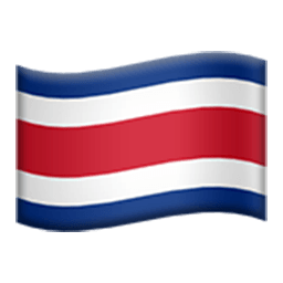 Flag Of Costa Rica Emoji