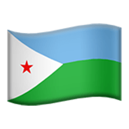 Flag Of Djibouti Emoji