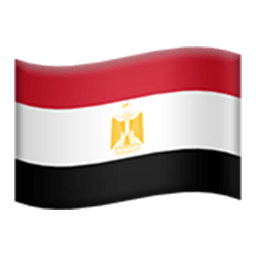 Flag Of Egypt Emoji
