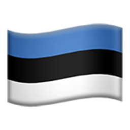 Flag Of Estonia Emoji