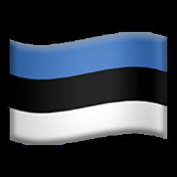 Flag Of Estonia Emoji