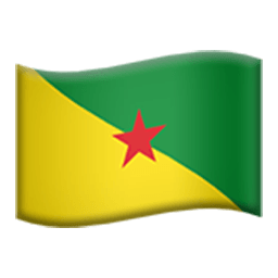 Flag Of French Guiana Emoji