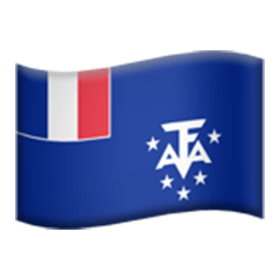 Flag Of French Southern Territories Emoji
