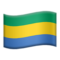 Flag Of Gabon Emoji