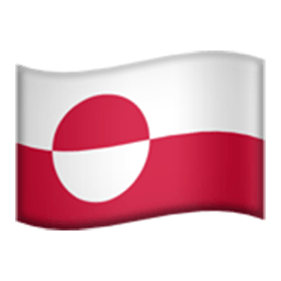 Flag Of Greenland Emoji
