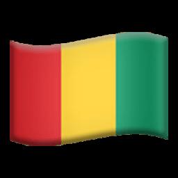 Flag Of Guinea Emoji