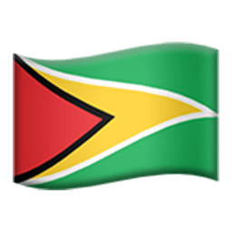Flag Of Guyana Emoji