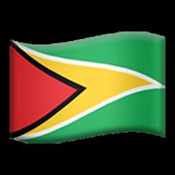 Flag Of Guyana Emoji