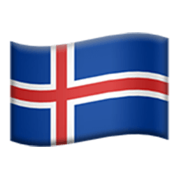 Flag Of Iceland Emoji