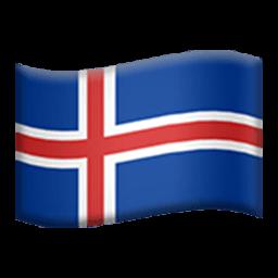 Flag Of Iceland Emoji