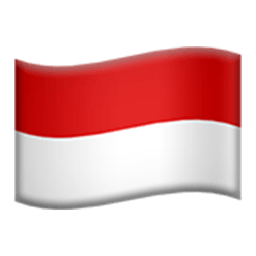 Flag Of Indonesia Emoji