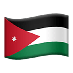 Flag Of Jordan Emoji