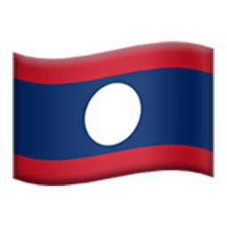 Flag Of Laos Emoji