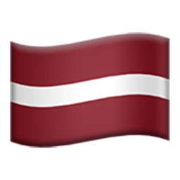 Flag Of Latvia Emoji