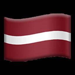 Flag Of Latvia Emoji