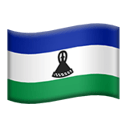 Flag Of Lesotho Emoji