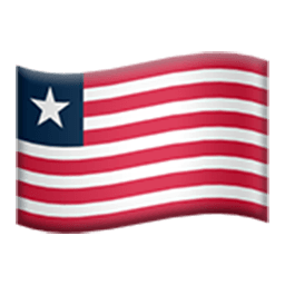 Flag Of Liberia Emoji