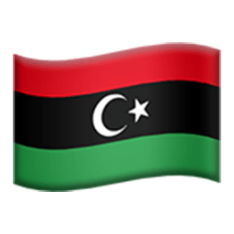 Flag Of Libya Emoji