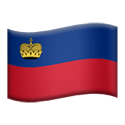 Flag Of Liechtenstein Emoji