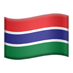 Flag Of The Gambia Emoji