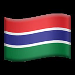 Flag Of The Gambia Emoji