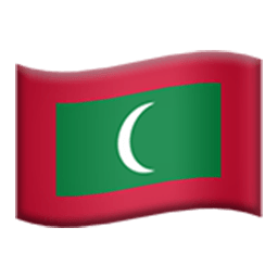 Flag Of Maldives Emoji