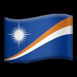 Flag Of The Marshall Islands Emoji