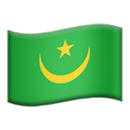 Flag Of Mauritania Emoji
