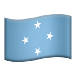 Flag Of Micronesia Emoji