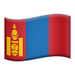Flag Of Mongolia Emoji