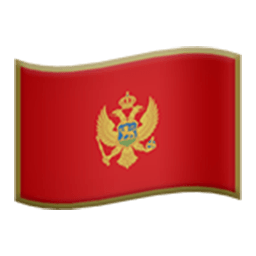 Flag Of Montenegro Emoji