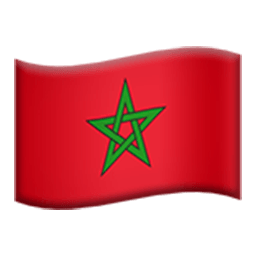 Flag Of Morocco Emoji