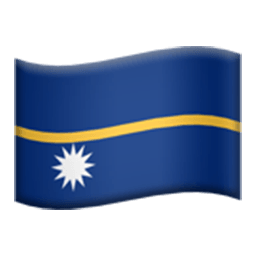 Flag Of Nauru Emoji
